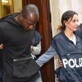 Itaalia politsei tabas 20-aastase Guerlin Butungu, keda kahtlustatakse vägistamises