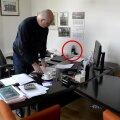 Mis viie antenniga masin Kalle Klandorfi laual on? Ilmselt jammer