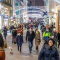 Rahvamassid Tallinna vanalinnas 5. detsembril