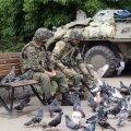 Ida-Ukrainas tulistati valitsusvägede positsioone 46 korral