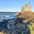 FOTOD: Tormine meri kulutab Pakri panka