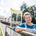 Enne kui maja 2016. aastal ametlikult avati, korraldas Tiina Saarmann konkursi majale nime leidmiseks. Sõelale jäi Tiina loomemaja.