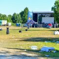 Hommik Klooga-rannas peale muusikafestivali