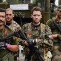Prantsuse vabatahtlikud 2014. aasta augustis Donetskis, vasakul Victor Alfonso Lenta