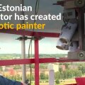 VIDEO JA FOTOD | Tartus katlamaja korstna täis maalinud Mihkel Joala: heameelega kataksin piltidega kõik Annelinna majade otsaseinad