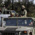Sõdurid Mehhiko kartellisõjas
