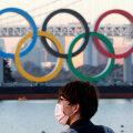 Olümpiarõngad Tokyos.