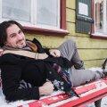 Justin Petrone sõnul saab ta Viljandis olla täpselt selline, nagu ta on. Omas elemendis.