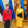 Kaljulaid kohtus Singapuri kommunikatsiooni- ja IT minister Josephine Teoga