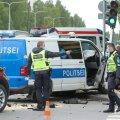 Liiklusõnnetus Sõle tänava ja Kolde puiestee ristmikul