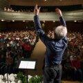 FOTOD ja VIDEO: Salme kultuurikeskuses toimusid laulupeo proovid