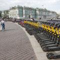 Peterburis peatasid elektritõukerataste renditeenuste pakkujad töö
