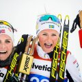 Therese Johaug ja Frida Karlsson