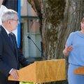 Eesti ja Austria president andsid Kadriorus ühise pressikonverentsi