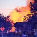 Lõuna-Californias toimus uus ja tugevam maavärin, mis tekitas tulekahjusid ja vundamentidesse pragusid