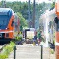 Soditud Elroni rongi puhastamiseks kulub mitu tuhat eurot