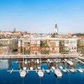 ВИДЕО   Проект за 18 млн евро: у Таллиннского порта построят торговый центр, отель и ресторан с видом на пристань