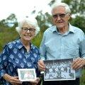 Austraalias elava Hardy Roseni eestlasest vanaisa Karl Romm töötas 1920-ndatel Päevalehes. Hardy ja Joan Rosen oma Sydney kodu rõdul, käes Rommide pere-pildid