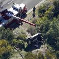Tiger Woodsi õnnetuspaik Rancho Palos Verdesis.