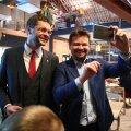 FOTOD   Pilgud ikka ekraanidel! Sotside valimisõhtul Balti jaamas valitses rahulik ja ootusärev meeleolu