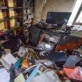 Loodusfotograaf Sven Začeki kodus süttisid drooniakud, mis olid kotti pakitud. Tulekahju tohutu kuumus hävitas terve korteri.