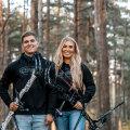 Õde-vend Robin ja Lisell Jäätma on Eestis vibumaailmas tuntud näod. Kombo, kes on üksteisele alati toeks, on toonud koju nii mõnegi Eesti meistritiitli ja rekordi.