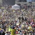 Папа римский провел мессу для мексиканской бедноты