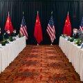 USA-Hiina kohtumine Alaskas algas vastastikuse vihase süüdistamisega