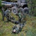Soome kaitseväe sõdurid õppusel.