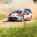 Ott Tänak ja Martin Järveoja 2018. aasta Rally Estonial.