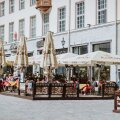 Kohviku terrass Raekoja platsil