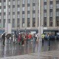 ФОТО   В Таллинне дождь не помешал людям встать в цепь солидарности с народом Беларуси