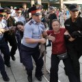 Kasahstani politsei arreteerib meeleavaldajaid 6. juulil