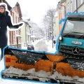 VIDEO | Lund pole enam kuhugi panna! Mida arvab lumeuputusest pealinna teid hooldav sahajuht?