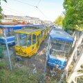 Tallinna trammid seisavad