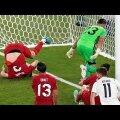 Сборная Турции забивает в свои ворота