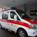 Tallinna lastehaigla reanimobiil (pilt on illustratiivne).
