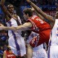 VIDEO: Kaheksa mehega mänginud Rockets tegi võimsa esituse