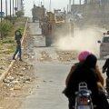 USA relvajõudude sõidukid Põhja-Süürias