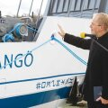 """Wrangö"" õnnistas sisse Prangli saare kirikuõpetaja Kalle Rebane. Foto: Aime Estna."