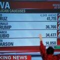 VIDEO: USA Iowa osariigi eelvalimistel sai Donald Trump lüüa, Clinton ja Sanders viigis