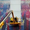 VIDEO | Ongi kõik! Barcelona staadionilt eemaldati Pariisi suunduva Messi plakatid
