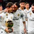 Luka Modrić Ballon d'Origa meeskonnakaaslaste embuses