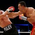 Raskekaalu maailmameister Vladimir Klitško sai eile hilisõhtul Hamburgis peetud poksimatšis jagu bulgaarlasest Kubrat Pulevist.
