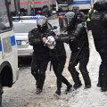 Задержание во время акций протеста в Москве