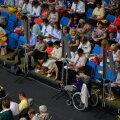 """ФОТО DELFI: Тысячи свидетелей Иеговы вновь """"оккупировали"""" один из главных залов столицы"""