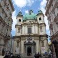 ФОТО читателя Delfi: Роскошный интерьер одной из старейших церквей Вены