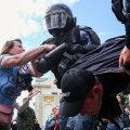 Kähmlus möödunud laupäeva Moskva meeleavaldusel.
