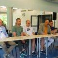 BC Valga-Valka uueks peatreeneriks on Marko Zarkovic (vasakult kolmas)