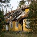 Rabasaare kummitusküla, tulevane muuseum ja linnalahingute harjutamise paik,  Tapa vald, Virumaa
